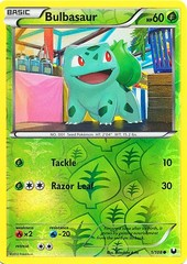 Bulbasaur - 1/108 - Common - Reverse Holo