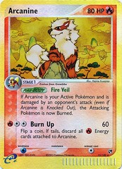 Arcanine - 15/100 - Rare - Reverse Holo