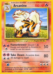 Arcanine - 23/102 - Uncommon - Unlimited Edition