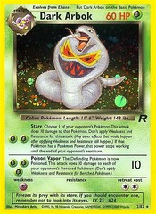 Dark Arbok - 2/82 - Holo Rare - Unlimited Edition