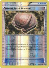 Armor Fossil Shieldon - 98/114 - Uncommon - Reverse Holo