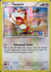 Meowth - 53/83 - Toys R Us Promos 2016