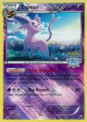 Espeon - 48/108 - Crosshatch Holo National Championships 2012 Promo