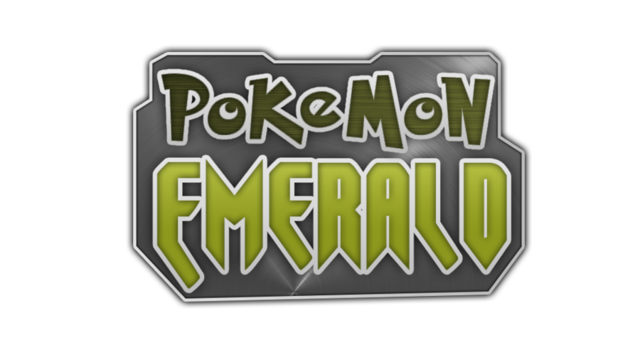 Pokemon_emerald_logo_by_britishtime-d62mlv6