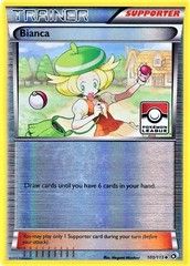 Bianca - 109/113 - Uncommon - Mirror Holo - Pokemon League Promo (Froakie Season 2014)