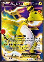 Ampharos EX - 87/98 - Full Art Ultra Rare