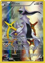 Arceus - XY83 - Pikachu-EX Legendary Collection - Full Art Holo Promo