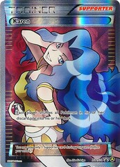 Karen (Alt Art) - XY177a - Premium Trainer's XY Collection