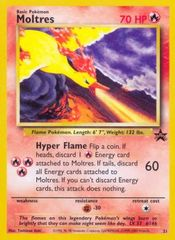Moltres - 21 - The Power of One Theatrical Release Legendary Birds Black Star Promo