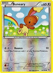 Buneary - 84/106 - Common - Reverse Holo