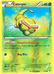 Caterpie - 1/106 - Common - Reverse Holo