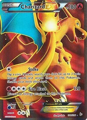 Charizard-EX - 100/106 - Full Art Ultra Rare