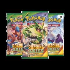 3 x Roaring Skies Booster Packs
