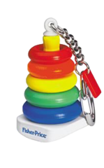 Fisher-Price Rock-a-Stack Keychain