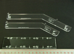 Space Fighter huge ship maneuver gauge set