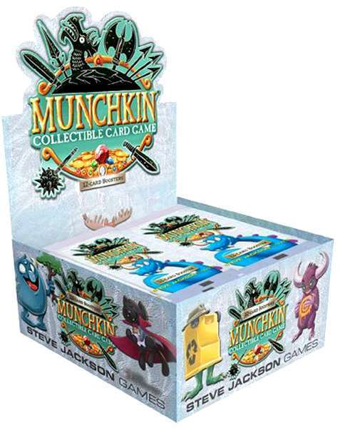 The Kessel Run - Munchkin Collectible Card Game Booster box (24 ...