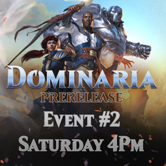 Prerelease Dominaria - Event #2 (Doubles)