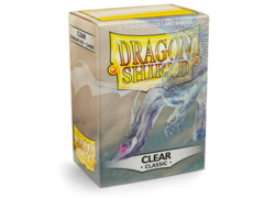 Dragon Shield Sleeves: Classic Clear (Box of 100)