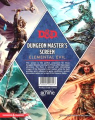 Dungeon Master's Screen Elemental Evil D&D 5th Ed.