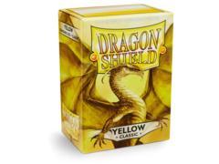 Dragon Shield Sleeves: Classic Yellow (Box of 100)