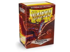 Dragon Shield Sleeves: Matte Crimson (Box of 100)