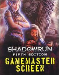 Shadowrun GM Screen 5th Ed