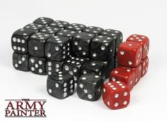 The Army Painter: Wargaming accessories - 36 x Wargaming dice, incl. 6 specialist dice (Black)