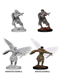 Nolzur's Marvelous Miniatures - Aasimar Male Fighter