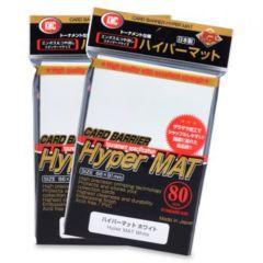 KMC Hyper Mat Sleeves: White (80ct)