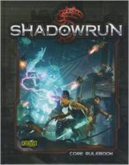 Shadowrun (Core Rule Book 5th Ed)