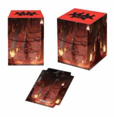 ULTRA PRO - DECK BOX 100CT - MTG GUILDS OF RAVNICA RAKDOS