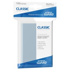 Ultimate Guard Sleeves: Classic Soft Sleeves (100ct)