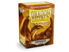 Dragon Shield Sleeves: Classic Orange (Box of 100)