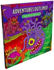 Adventures Outlined - Coloring Book