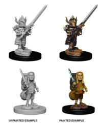 Nolzur's Marvelous Miniatures - Halfling Male Fighter