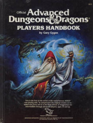 Player's Handbook (1st Ed, 2nd Cover, Orange Spine)