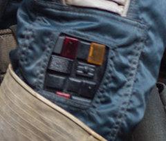Cassian Andor Jacket Badge Transponder Fan Made cosplay