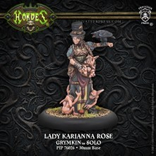Lady Karianna Rose Solo (White Metal)
