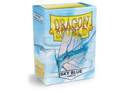 Dragon Shield Sleeves: Matte Sky Blue (Box of 100)