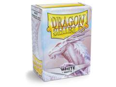 Dragon Shield Sleeves: Matte White (Box of 100)