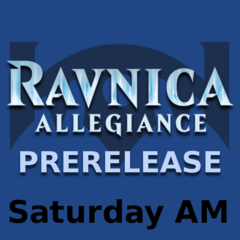 Ravnica Allegiance - Saturday Prerelease (Singles)
