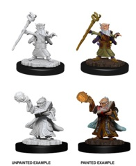 Nolzur's Marvelous Miniatures - Gnome Male Wizard