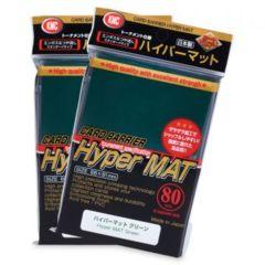 KMC Hyper Mat Sleeves: Green (80ct)