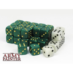 The Army Painter: Wargaming accessories - 36 x Wargaming dice, incl. 6 specialist dice (Green)