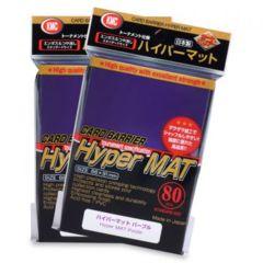 KMC Hyper Mat Sleeves: Purple (80ct)
