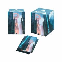ULTRA PRO - DECK BOX 100CT - MTG GUILDS OF RAVNICA AZORIUS