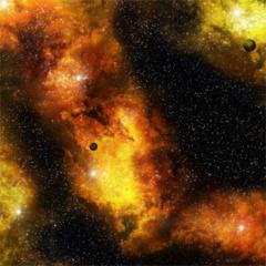 3X3 Gaming Mat - Fiery Nebula
