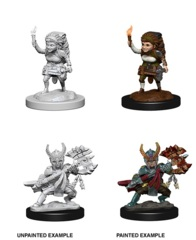 Nolzur's Marvelous Miniatures -  Halfing Female Fighter