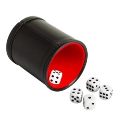 Dice Cups ( all kinds)