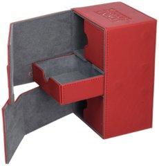 Ultimate Guard Twin Flip N Tray Xeno 160+ Card Game, Red